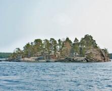 Dom na wyspie