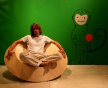 Obrotowy fotel