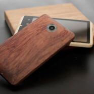 Bambusowy telefon