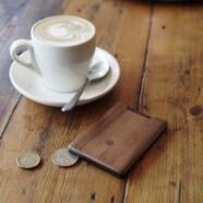Drewniany portfel