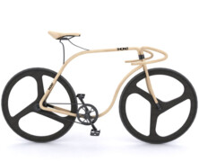 Bukowy rower