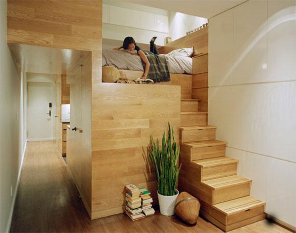 projekt malego mieszkania1
