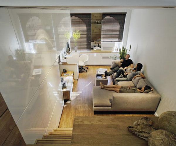 projekt malego mieszkania2