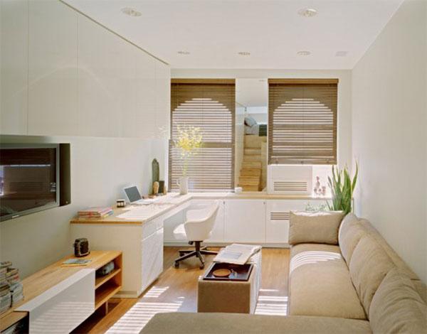 projekt malego mieszkania