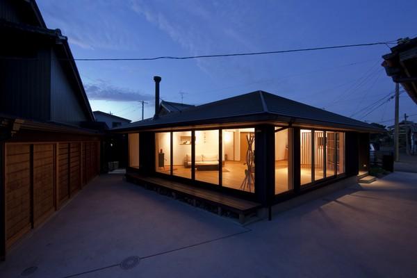 Pięciokątny dom