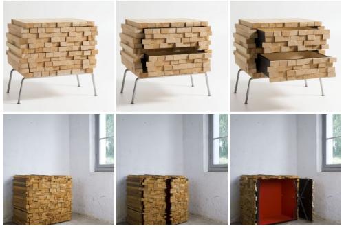 Składzik drewna 1