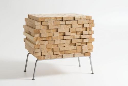 Składzik drewna
