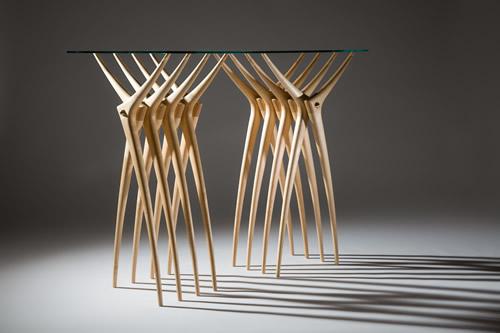 Stół z żeber - wnętrza 1