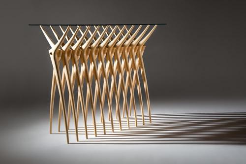 Stół z żeber - wnętrza 2