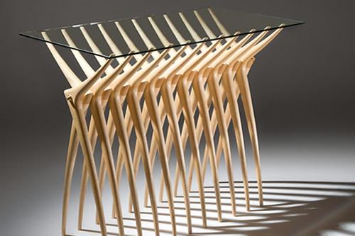 Stół z żeber - wnętrza 3