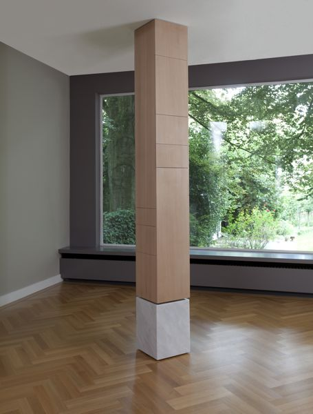 Szafka w kolumnie - wnętrza