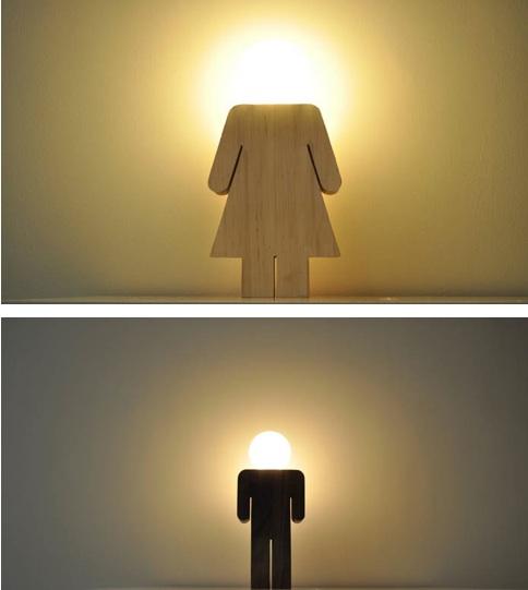 figurka lampka wnętrza