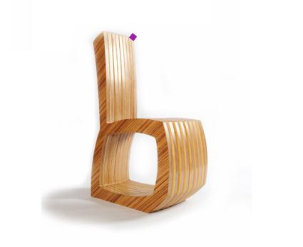 krzeslo zebrano