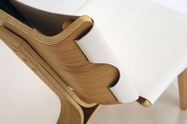 Nowoczesne krzesło Kurven