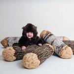 Poduszka z drewna